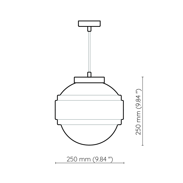 lampa wisząca Saturn