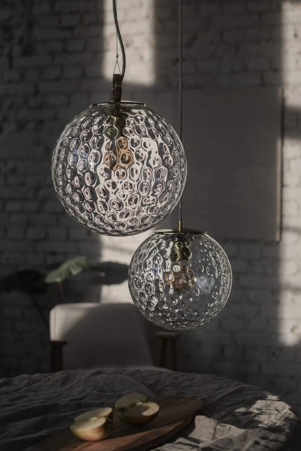 Szklane Lampy Wisząca Kule Refleksyjne