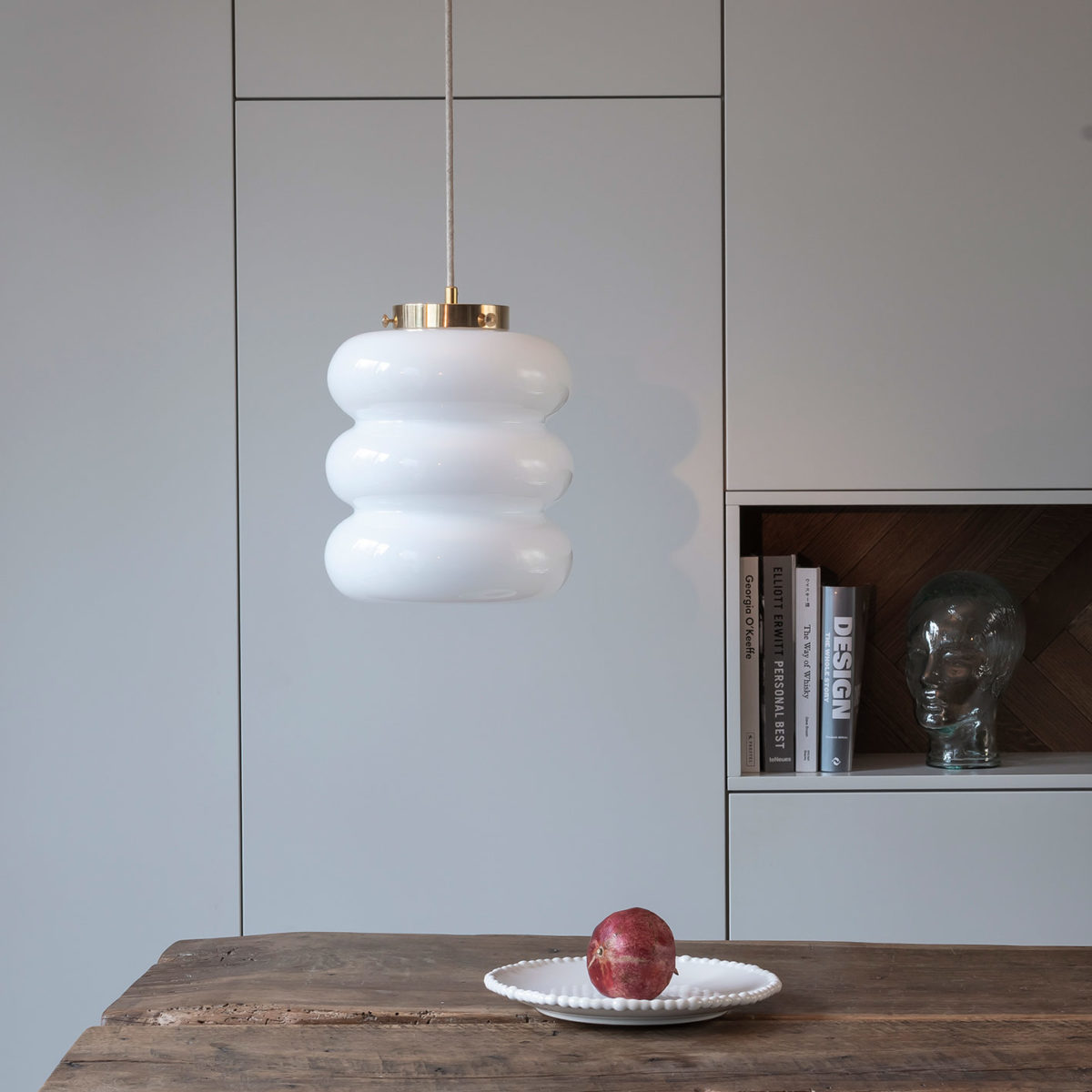 Glass Pendant Light Bibe 1