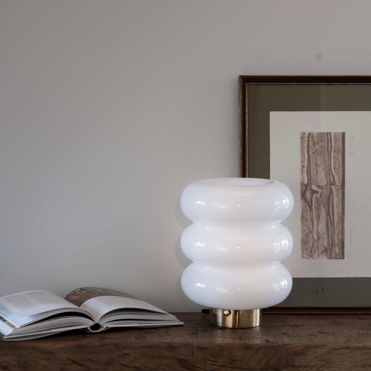 Glass Table Lamp Bibe 8