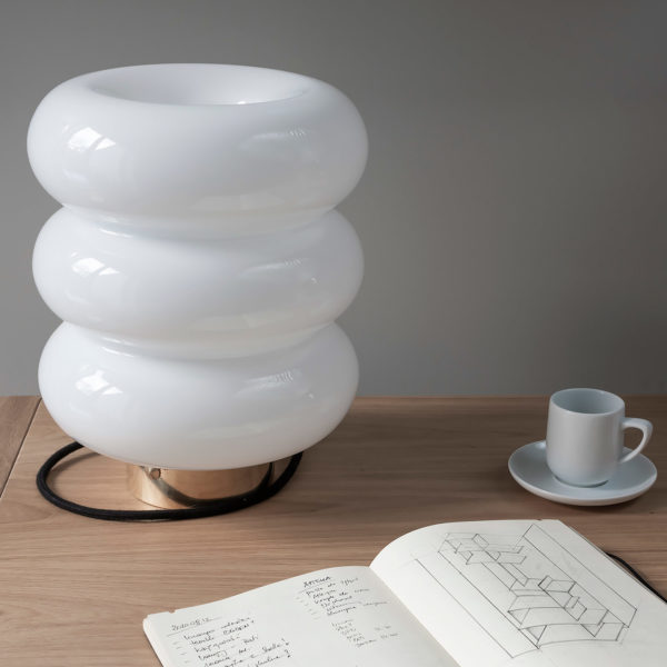 Glass Table Lamp Bibe 10