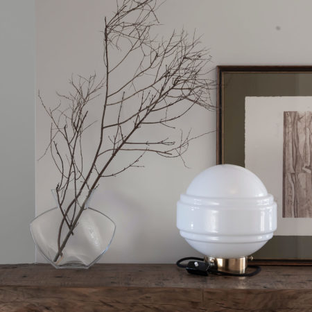 Glass Table Lamp Saturn 6