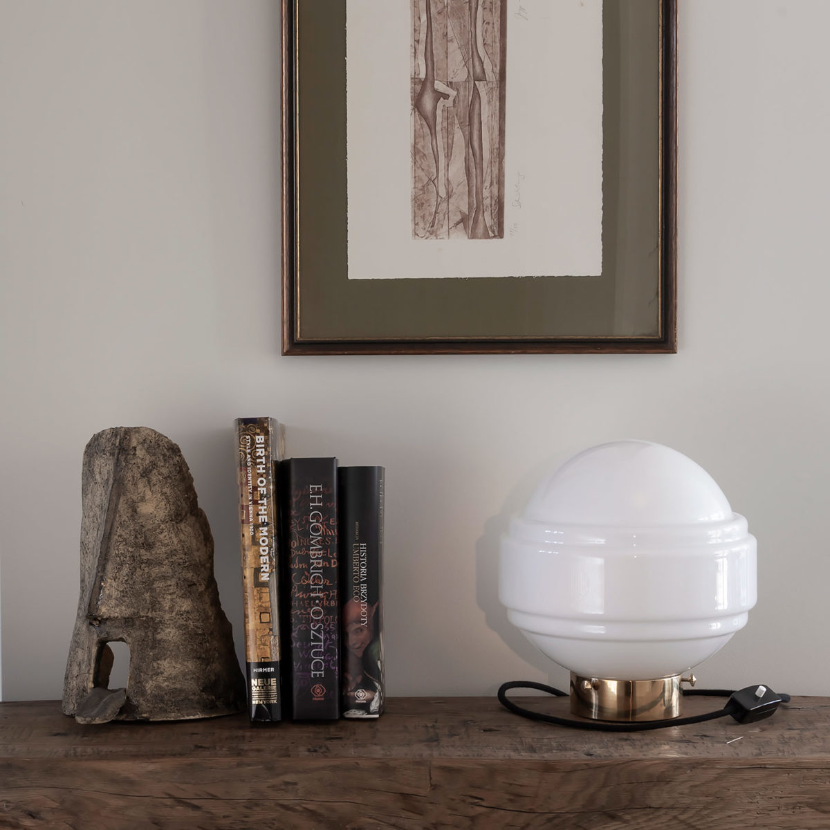 Glass Table Lamp Saturn 8