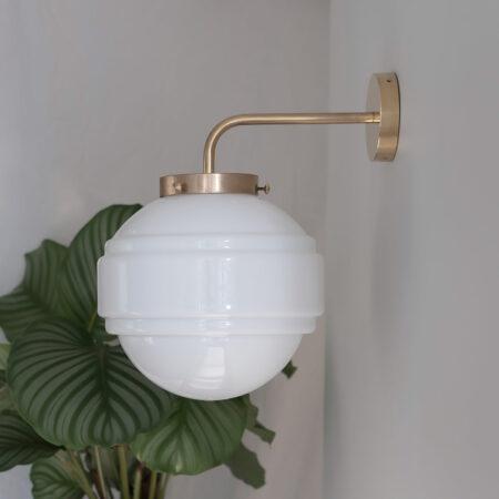 Glass Wall Lamp Saturn