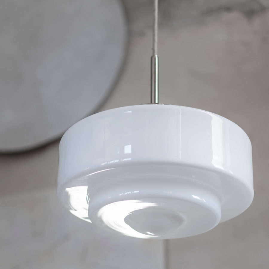 glass pendant lamp Mémoire
